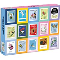 """Galison Birds of the World Puzzle, 1,000 Pieces, 27"""" x 20'' – Jigsaw Puzzle Featuring Artwork from Diana Beltrán Herrera…"""