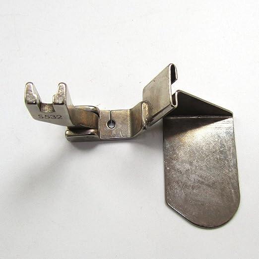 KUNPENG - Pie de unión de costura con guía para máquinas de coser industriales # S532 1piezas: Amazon.es: Hogar