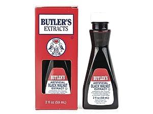 Butler's Best Black Walnut Extract 2 fl.oz. Bottle (1 Bottle)