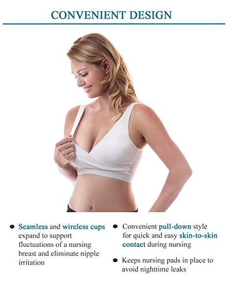 84ff437d20 Amazon.com   Classic All-In-One Hands-Free Pumping and Nursing Bra - Nude