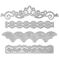 Metal Lace Die Cuts Cutting Dies Nesting die Embossing Stencils Template Mould for Card Scrapbooking and DIY Crafts 4…