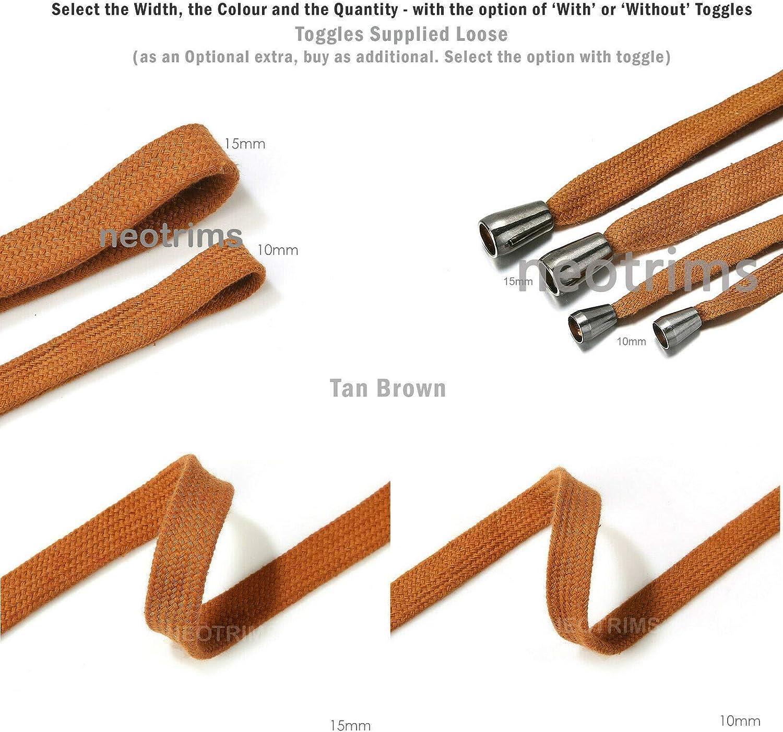 Sudadera con capucha y cordón de ajuste. 10 y 15 mm de ancho ...