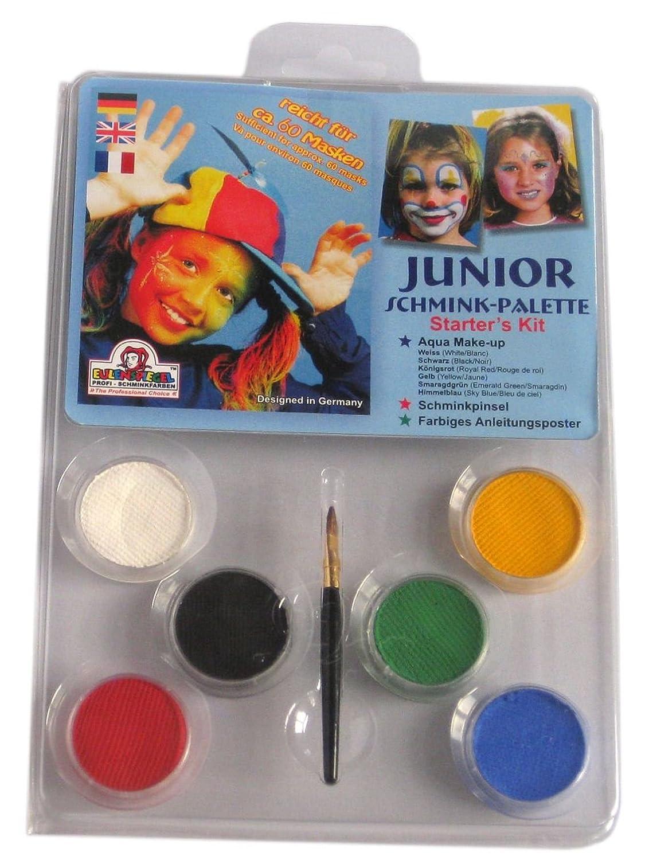 Eulenspiegel Junior Schmink Palette CC-EU-206010 Karneval (Kostüme Schminke Deko etc)