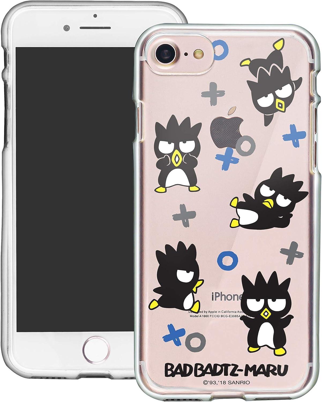 iPhone 8 Plus/iPhone 7 Plus Case Sanrio Cute Border Clear Jelly Cover [ iPhone 8 Plus/iPhone 7 Plus ] Case - Play Bad Badtz-Maru