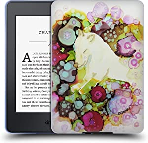 Head Case Designs Officially Licensed Sylvie Demers Sweet Wolf Nature Soft Gel Case Compatible with Kindle Paperwhite 1/2 / 3