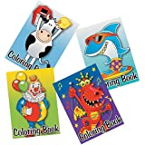 """OTC - Kid's Coloring Books 5"""" x 7"""" - Great Party Favors! (12-Pack)"""