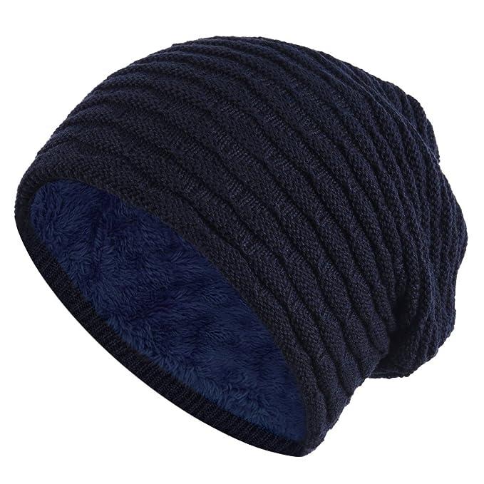 ishine gorras mujer sombreros hombre negro Hombres tejidos de lana sombrero del casquillo exterior con 6 colores: Amazon.es: Ropa y accesorios