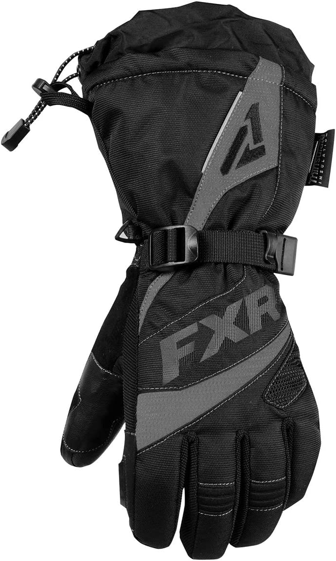 Small Black//Fuchsia FXR Racing F19 Fusion Womens Snowmobile Gloves