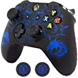 Xbox One Controller Skin, BRHE Anti-Slip Silicone Cover Protector Case Accessories Set for Microsoft Xbox 1 Wireless/Wired Ga