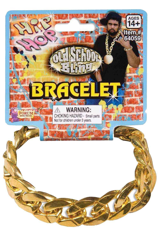 Gold Chain Link Bracelet Forum Novelties Inc 64059