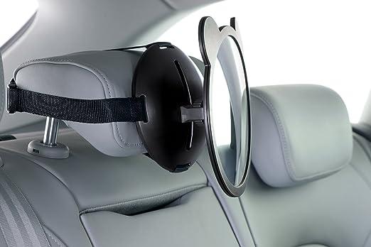 Safety 1st Rückspiegel Großer Spiegel Für Kindersitze Reboarder Baby Sitze Im Auto Schwarz 33110128 Baby