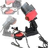 Electric Grinder Chain Saw Bench Sharpener Vise Mount W/Grind Chainsaw Wheel