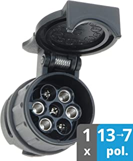 as-Schwabe 60439 Caravan Universal Miniadapter 12V 13polig auf 7-polig ***NEU**