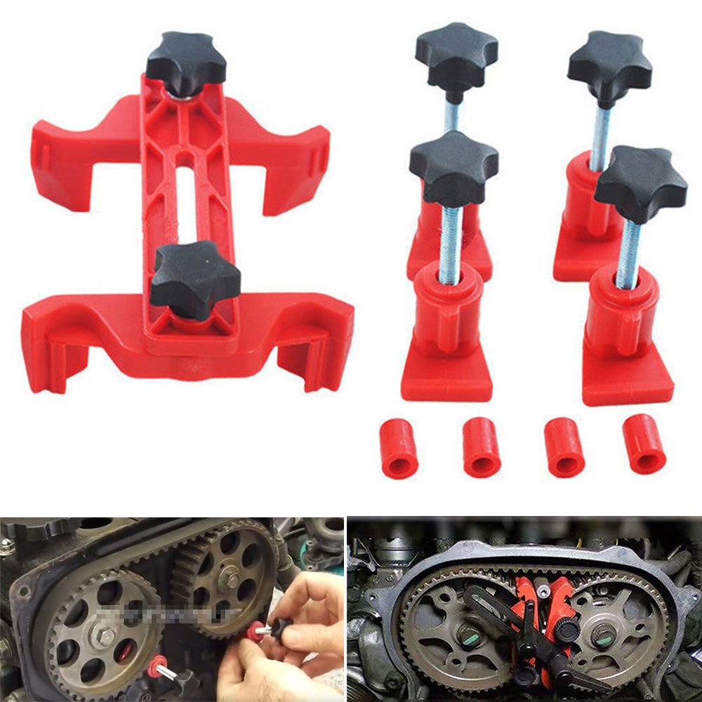 Sedeta Universal 5Pcs Cam Camshaft Lock Holder Car Engine Cam Timing Locking Tool Set Car Engine Cam Timing Locking Tool Set