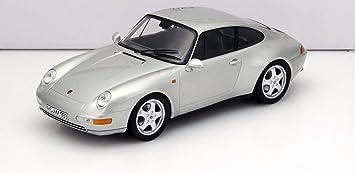 Porsche 911 (993) Carrera, silver, 1993, Model Car, Ready-