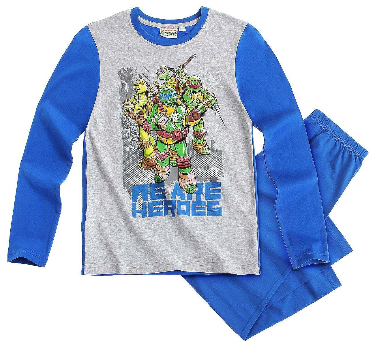Pijama largo para niño, diseño de Las Tortugas Ninja, color ...