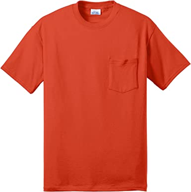 Port /& Company Boys 50//50 Cotton//Poly T Shirt
