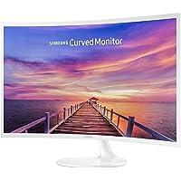 "Samsung C32F391F, 32"" LED Curved Monitor, 1920x1080, White"