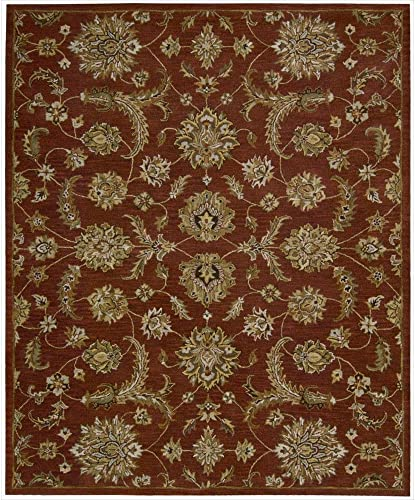 Nourison India House Brick Rectangle Area Rug