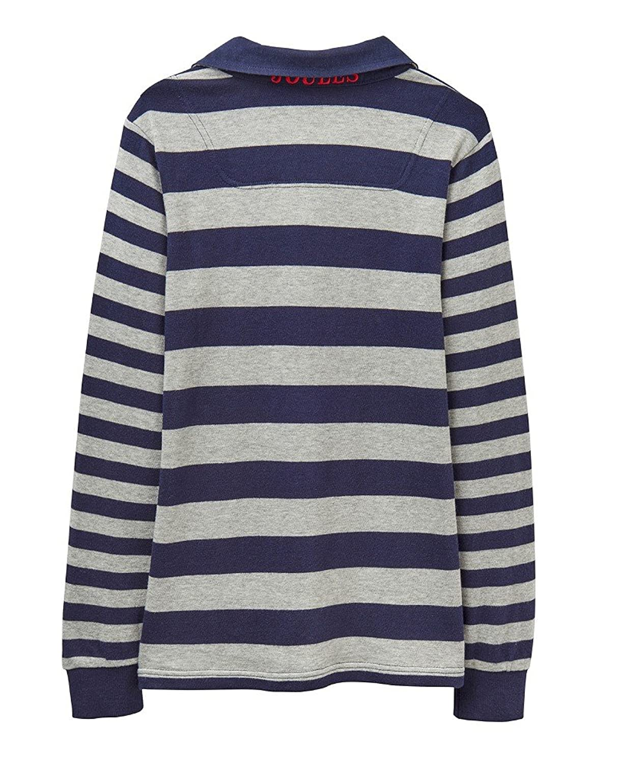 Joules Boys Arnie French Navy Striped Rugby Shirt (Top/Jersey):  Amazon.co.uk: Clothing