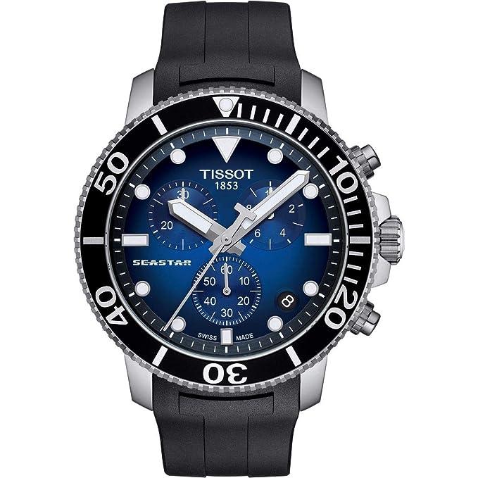 Amazon.com: Tissot T120.417.17.041.00 Seastar 1000 Chronograph Mens Watch: Watches