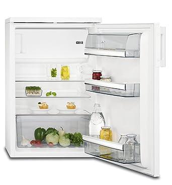 AEG RTB81421AW Freistehender Tisch Kühlschrank / 850 Mm / ****  Gefrierfach  / 133 L / Farbe: Weiß: Amazon.de: Elektro Großgeräte