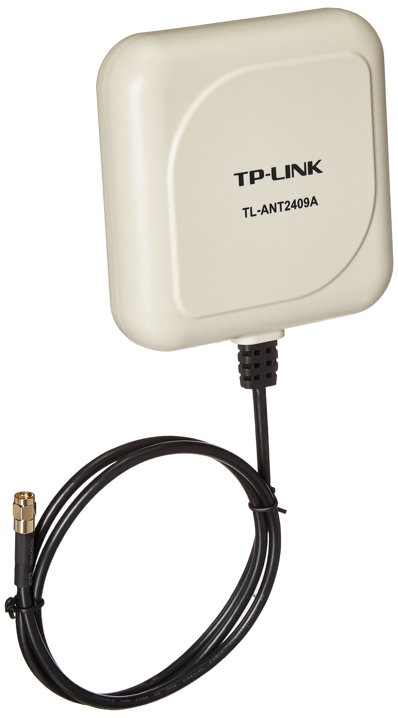 TP-Link 2.4GHz 9dBi Directional Antenna,802.11n/b/g, RP-SMA Male connector, 1m/3ft cable (TL-ANT2409A) by TP-LINK