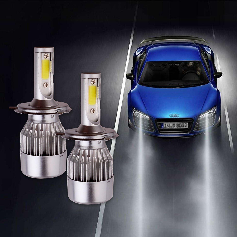 domii. casa 1 par H7 bombillas LED para faros delanteros de ...