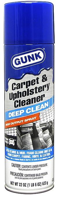 carpet upholstery cleaner. gunk tcuc22 tough series carpet and upholstery cleaner - 22 oz.