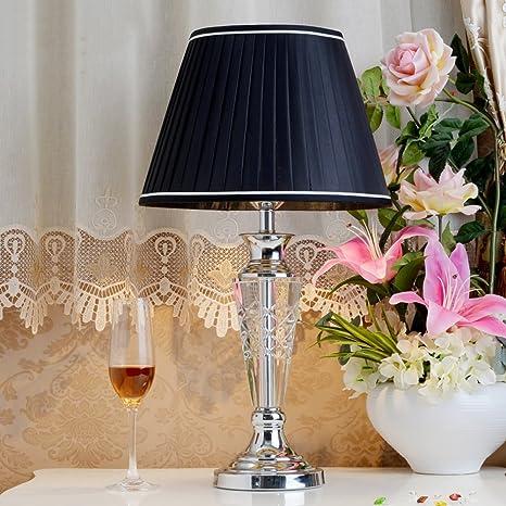 Simple Moderno Cristal Lámparas de mesa,Dormitorio Lámpara ...