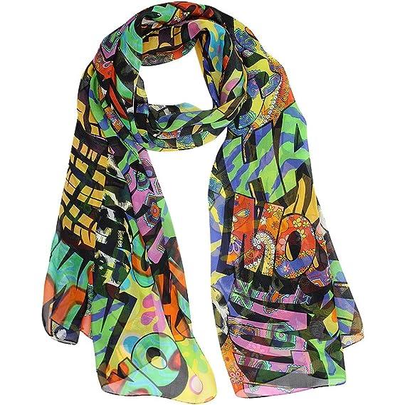 Moschino - Echarpe - Femme multicolore multicolore Taille unique ... 5136c469ddda