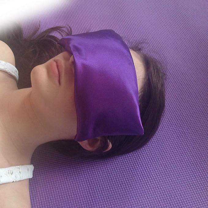 Amazon.com: Almohadilla de Seda para Ojos con aroma a ...