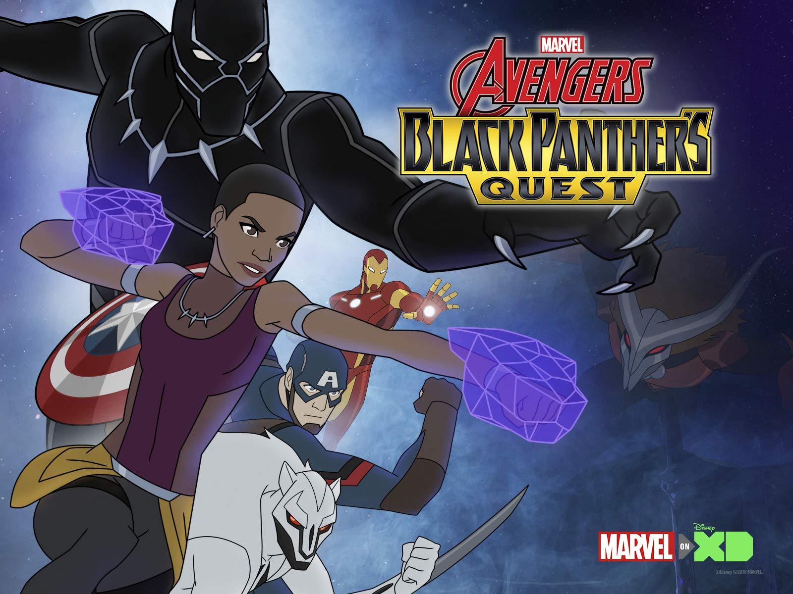 marvels avengers black panthers quest season 1