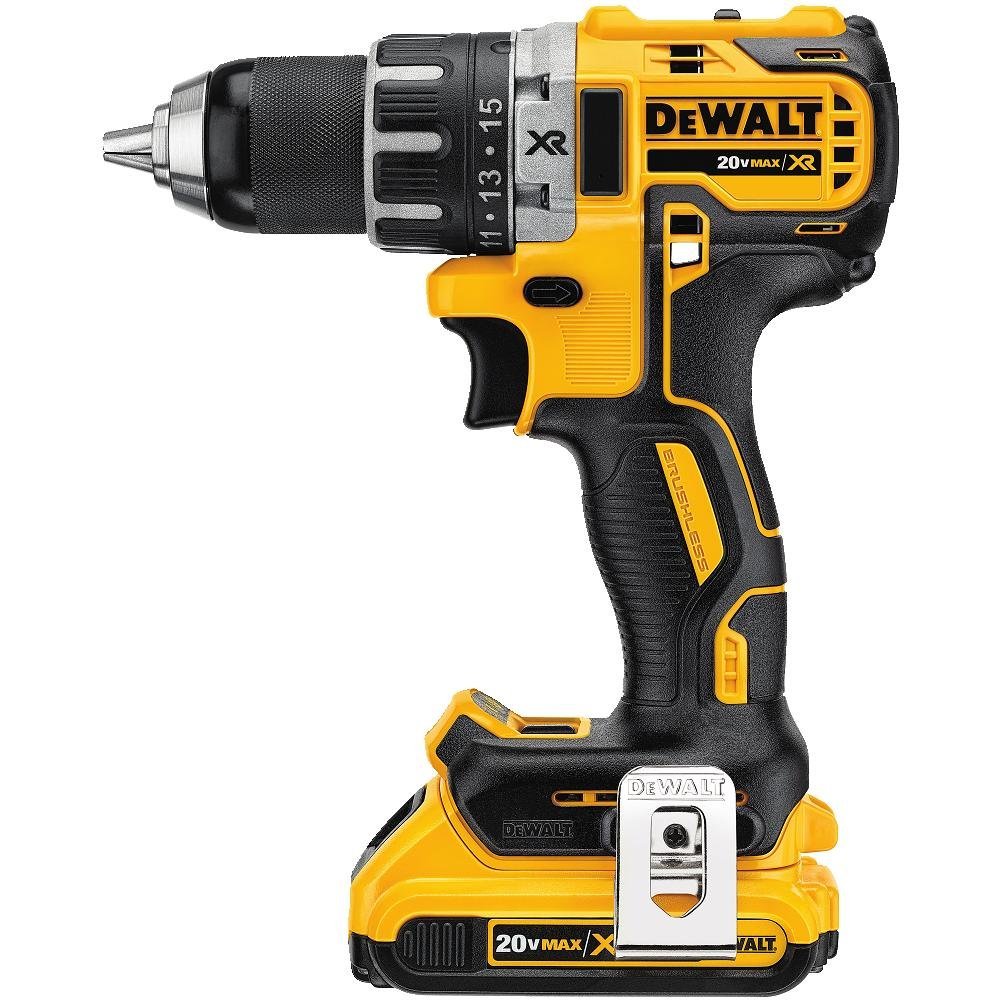Dewalt dcd791d2 20v max li ion compact brushless drill for Dewalt 20v brushless motor