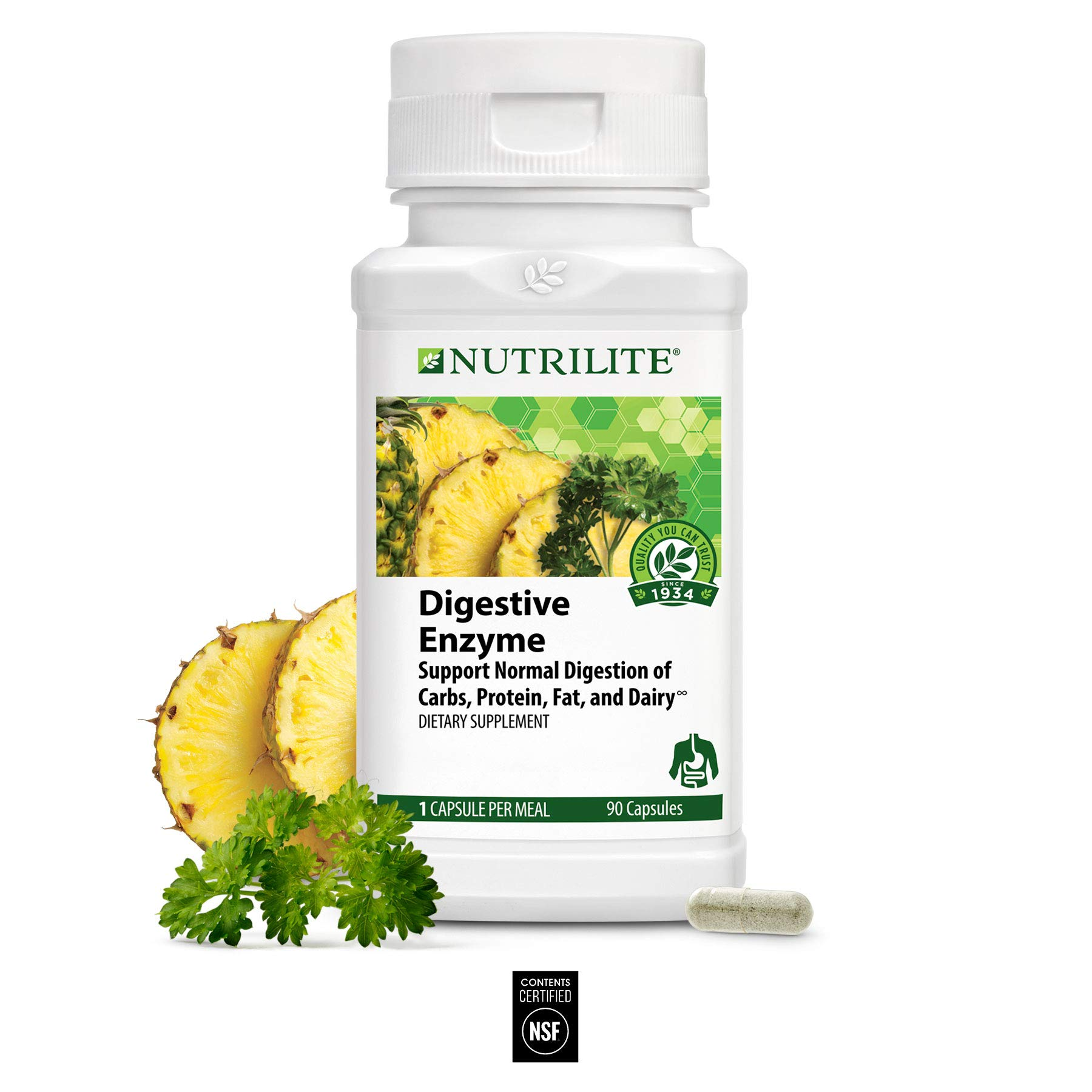 Nutrilite Digestive Enzyme Complex - 90 Count by Nutrilite