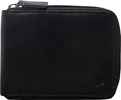 Mancini Mens Classic RFID Secure Leather Wallet