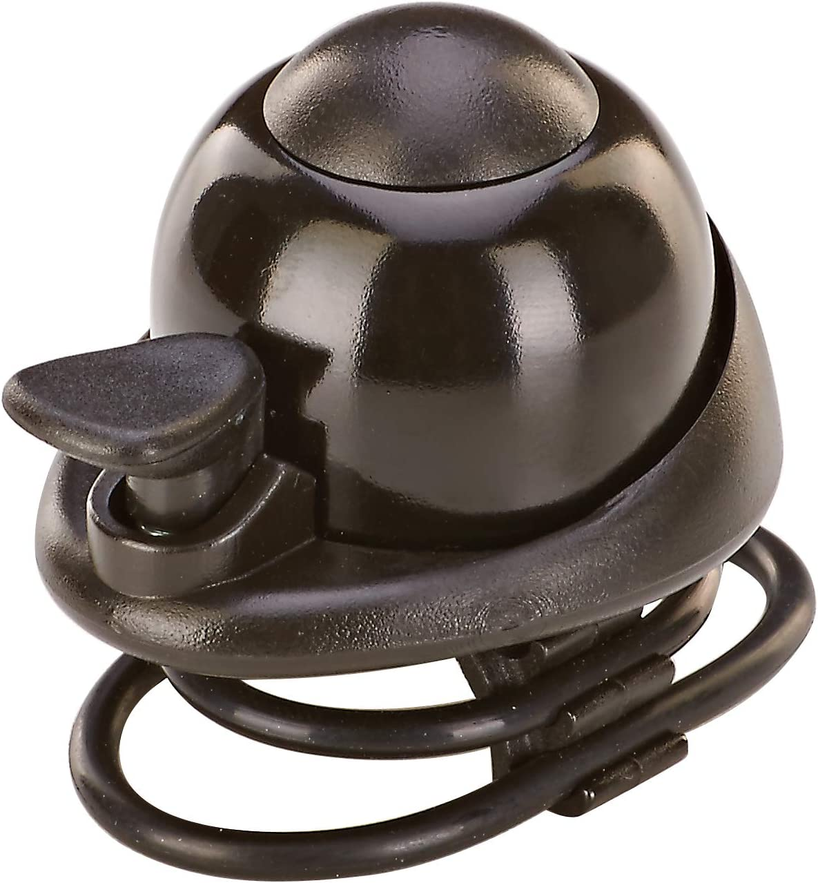 Colour: Black Bicycle Bell Adults Bell with Silicone Mount Fits All Handlebar Diameters Prophete Unisex One Size