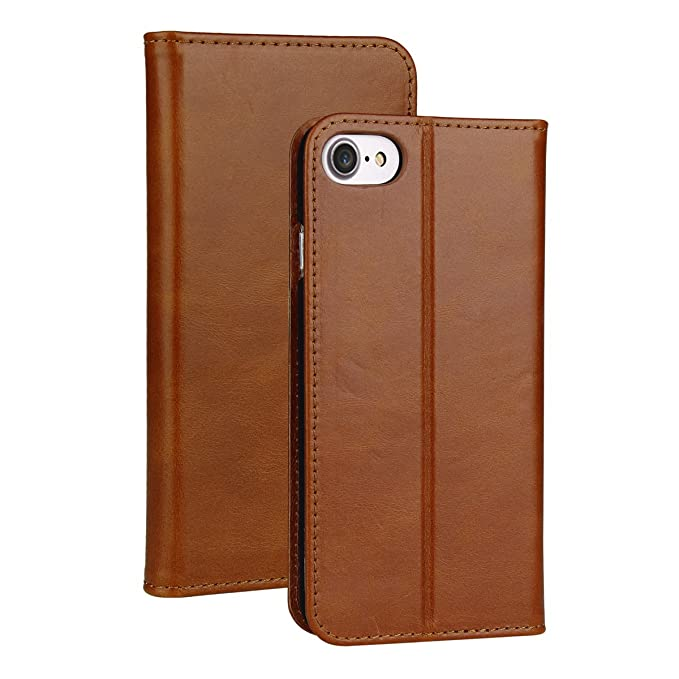 the latest 74aba f58c8 Valkit for iPhone 6s Plus Wallet Case,Genuine Leather Folio Flip Case Cover  Magnetic Stand Function with Card Slots for Apple iPhone 6 Plus/ 6S Plus ...