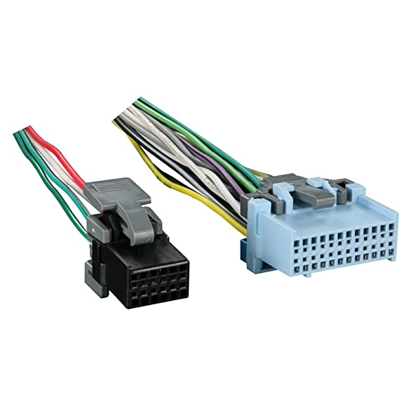 Amazon Com Metra Reverse Wiring Harness 71 2103 1 For Select Gm