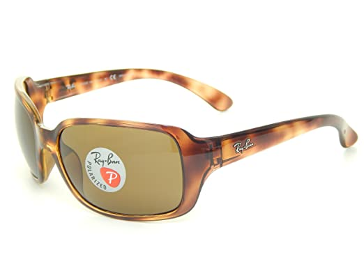 Ray Ban RB4068 642 57 Tortoise Polarized Brown 60mm Sunglasses   Amazon.co.uk  Clothing 1ea7a120ed64