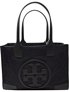 c4cf1c8bdc56 Amazon.com  Tory Burch Nylon Mini Ella Tote - Black  Tory Burch  Shoes