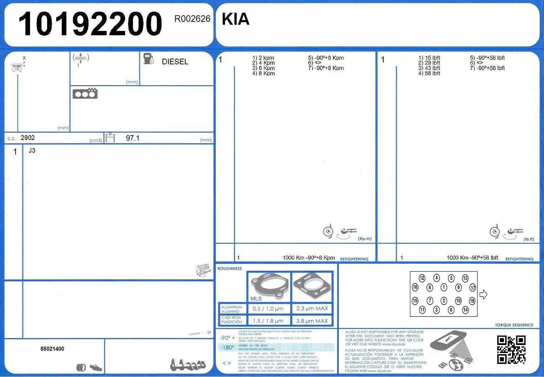 Ajusa 52283200 Dichtungssatz Zylinderkopf
