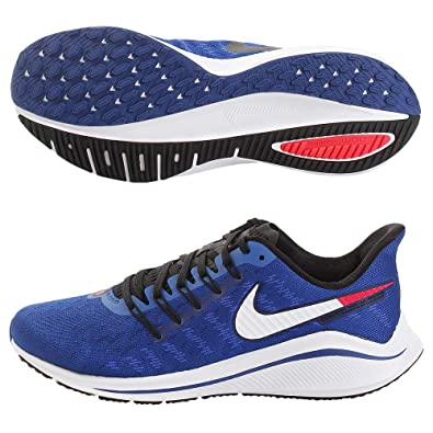65cab1a445606 Nike Men s Air Zoom Vomero 14 Track   Field Shoes  Amazon.co.uk ...