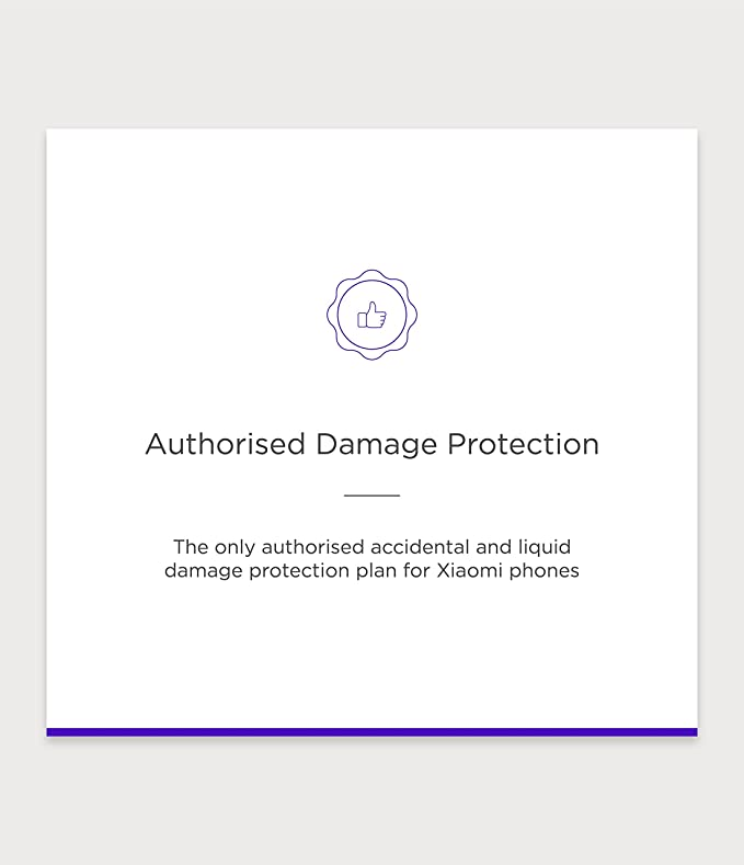 Servify Protect - 1 Year Accident and Liquid Damage Plan for Xiaomi Devices  between Rs  12001 to Rs  17000