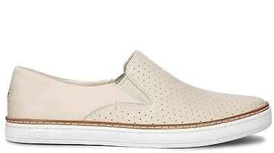 378437b51767e UGG Womens Keile Perf Sneakers in Freshwater Pearl