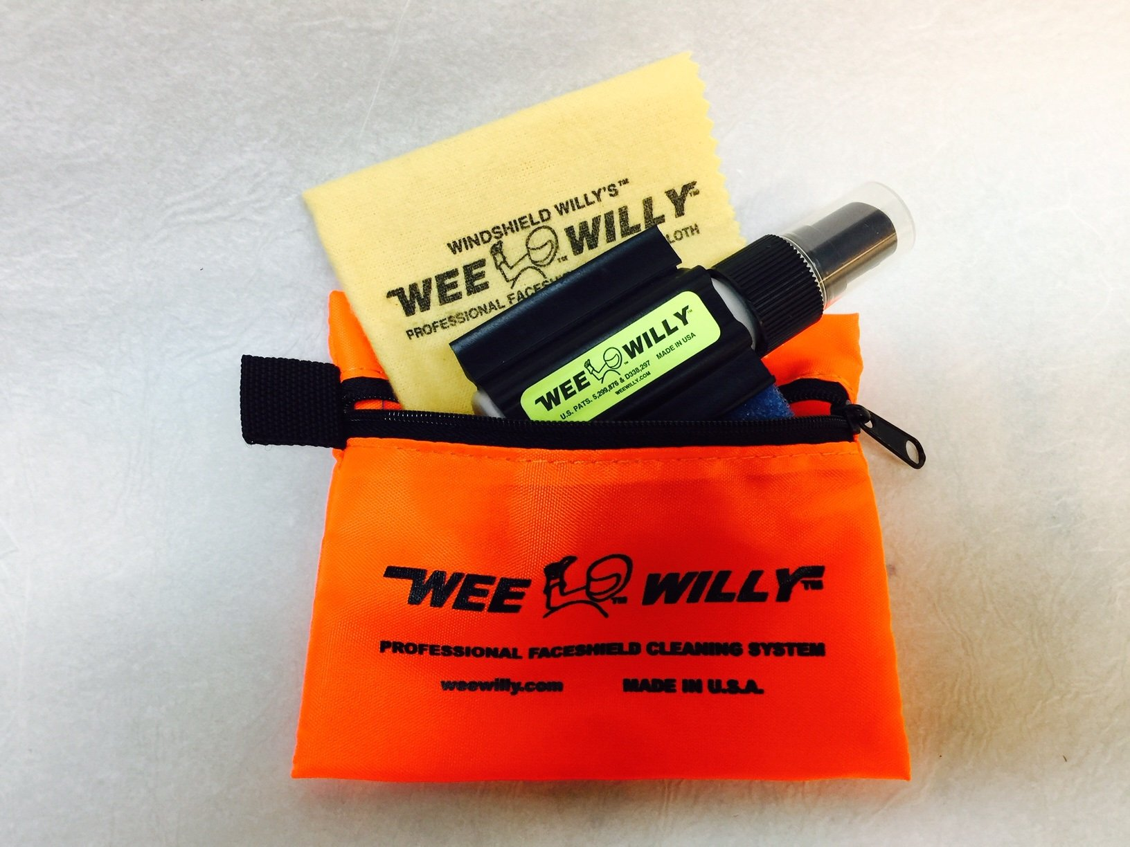 Wee Willy Professional Faceshield Cleaning System