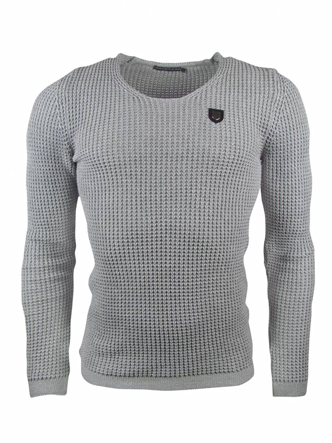 Redbridge?-?Knitted Jumper?-?Grey, Size M