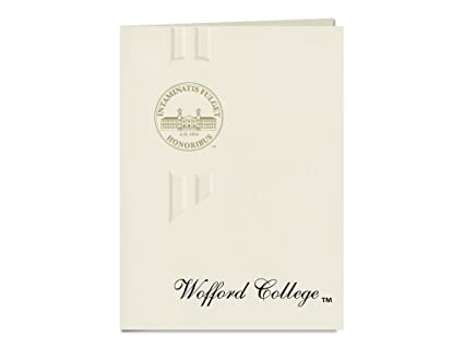 amazon com signature announcements wofford college graduation