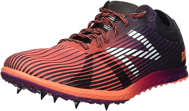 New Balance Women's 5K V4 Cross Country Running Shoe, Orange, 5 B US
