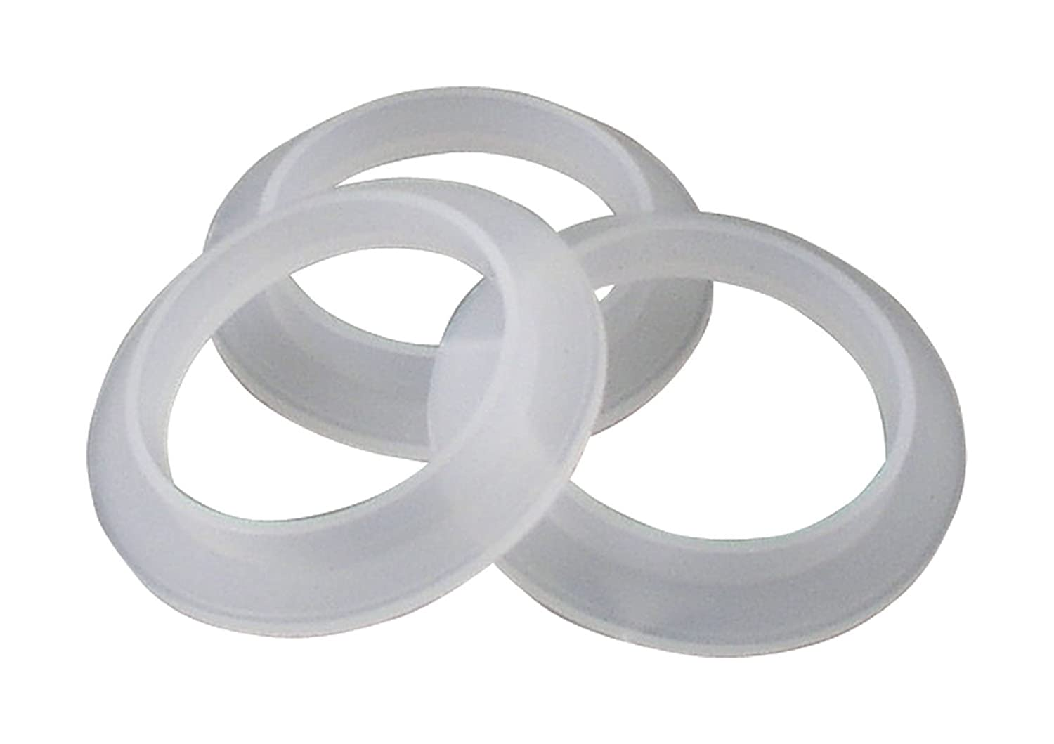 LDR 506 6506 1-1/2-Inch Polyethylene Flanged Tailpiece Washers ...